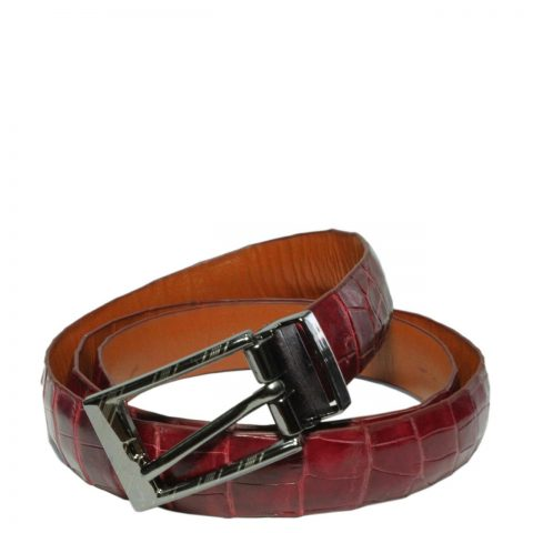 Crocodile Leather Belt S502b