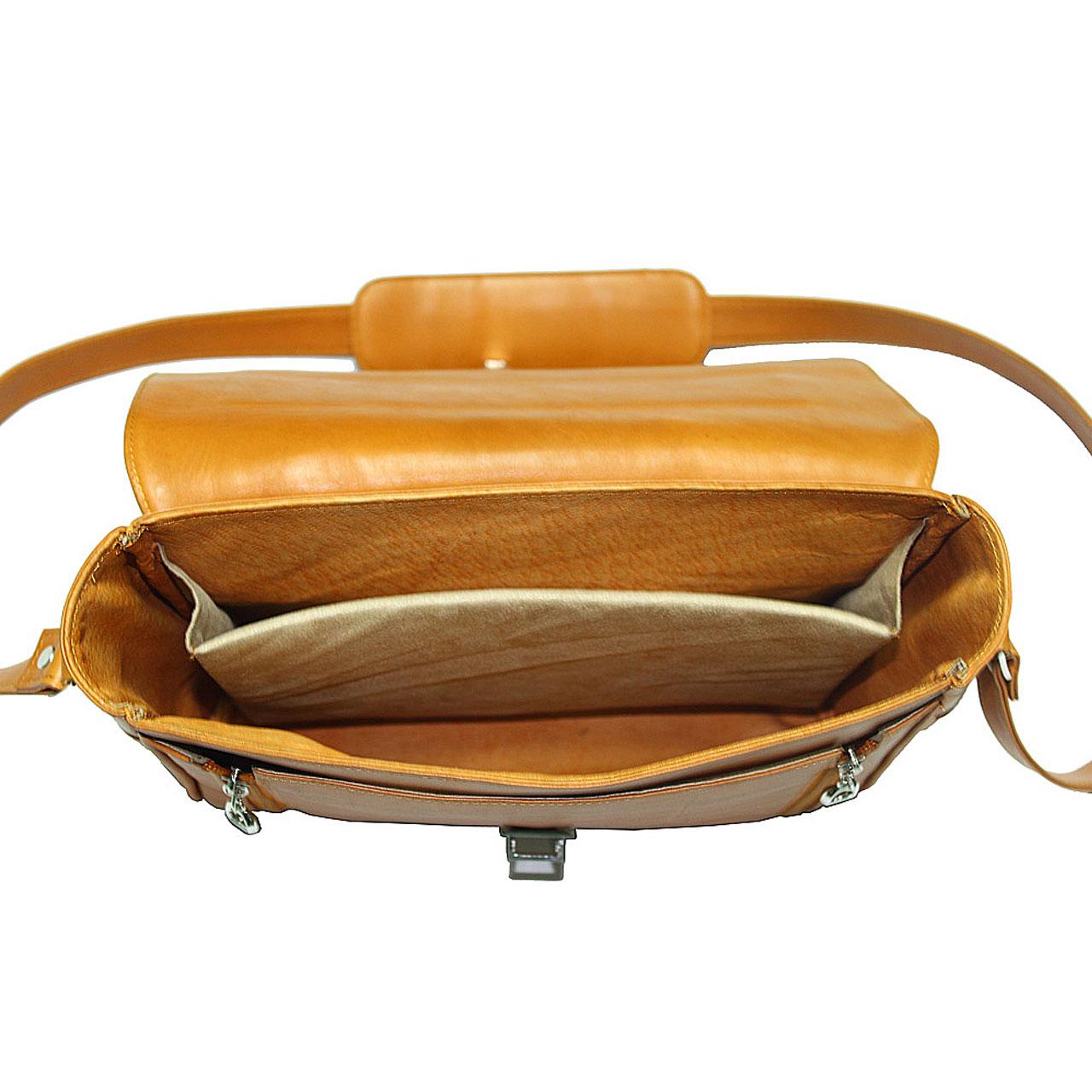 Túi đeo chéo nam da bò B201a