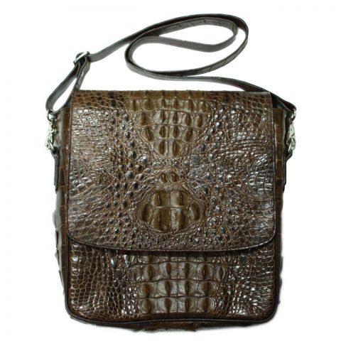 Crocodile Leather Crossbody Bag S204a