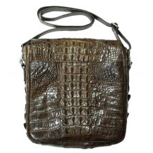 Túi đeo chéo nam da cá sấu S204a
