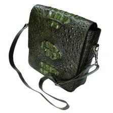 Túi đeo chéo nam da cá sấu S204b