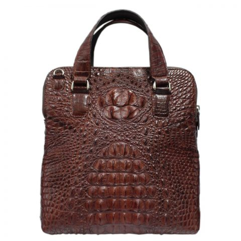 Crocodile Leather Crossbody Bag S205a