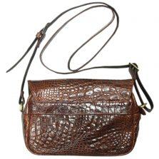 Túi đeo chéo nữ da cá sấu S124a