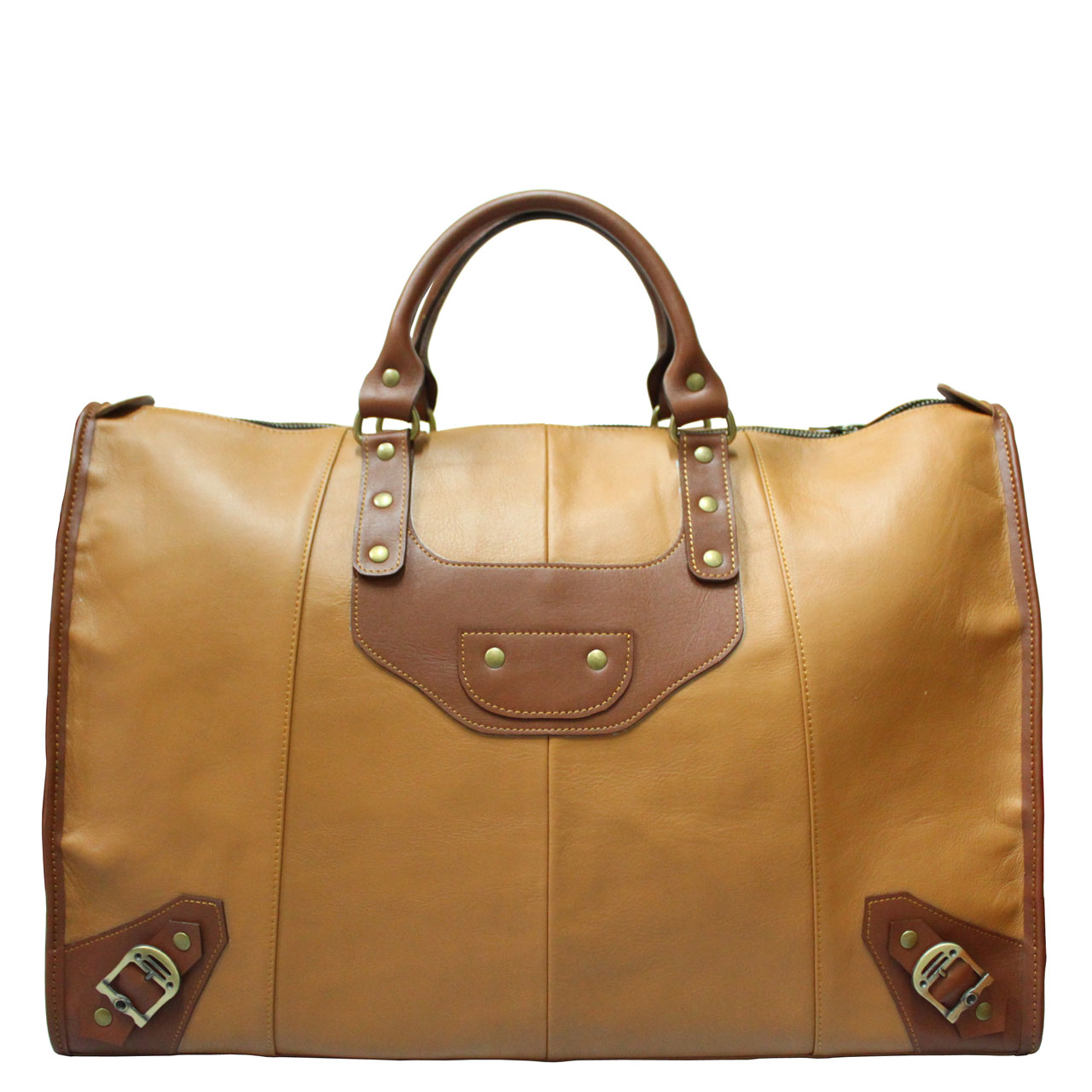 Cow Leather Travel Bag B281