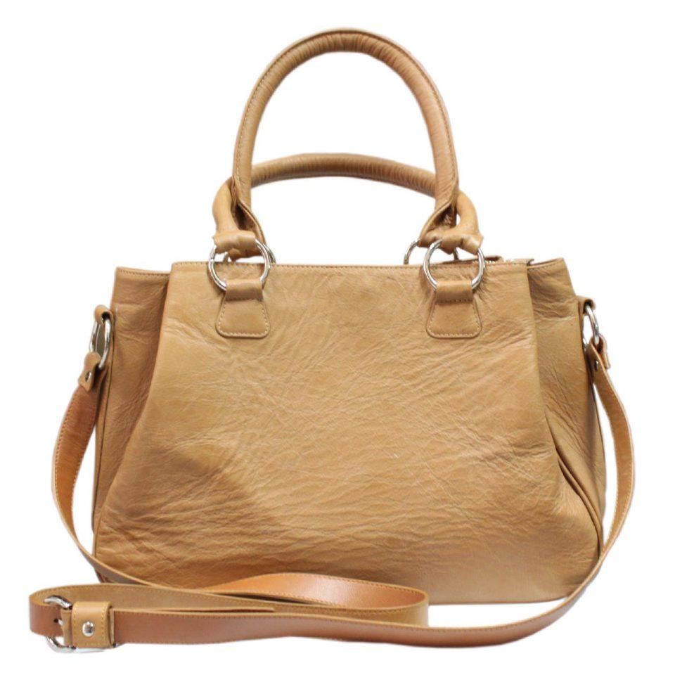 Cow Leather Handbag B016a