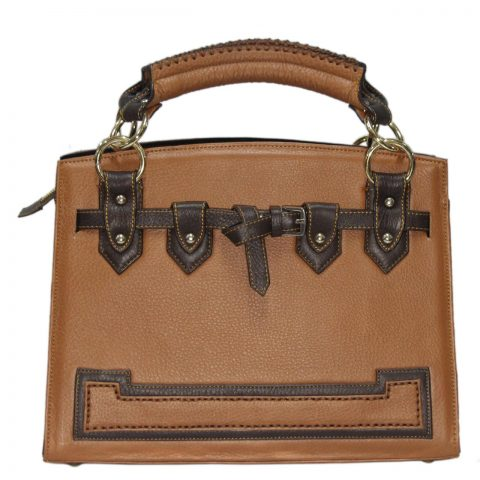 Cow Leather Handbag B018