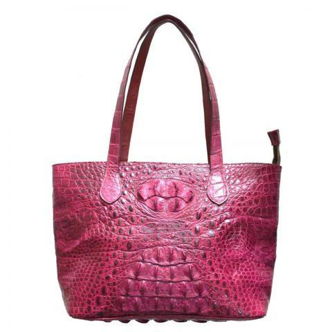 Crocodile Leather Handbag S004b