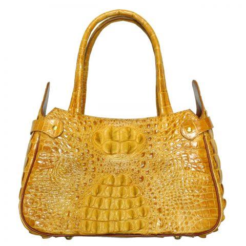 Crocodile Leather Handbag S008a