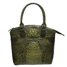 Crocodile Leather Handbag S009c