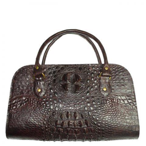 Crocodile Leather Handbag S014b