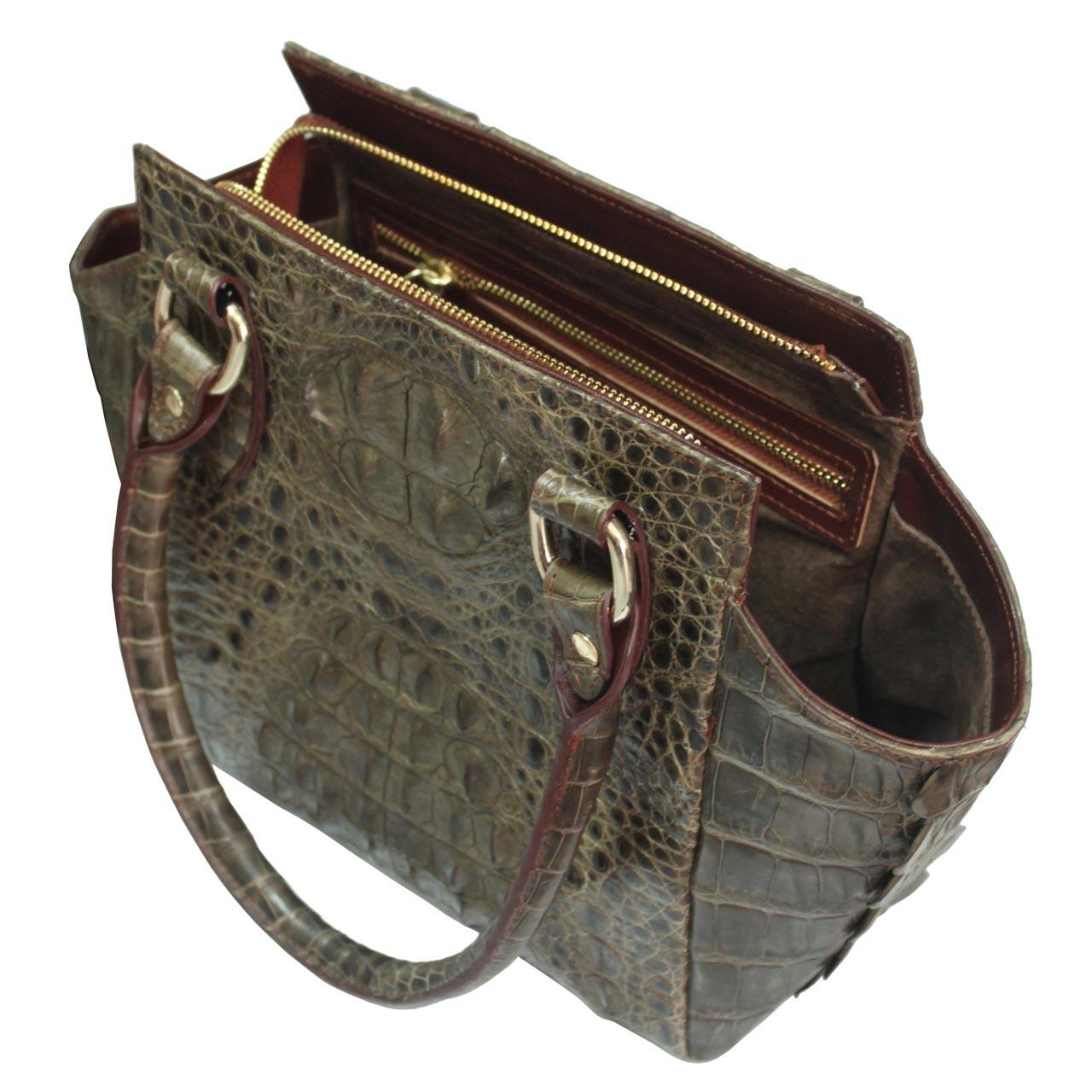 Túi xách nữ da cá sấu S021a