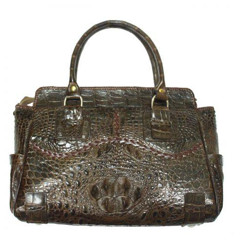 Crocodile Leather Handbag S022a