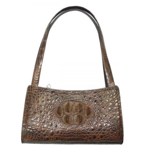 Crocodile Leather Handbag S026a
