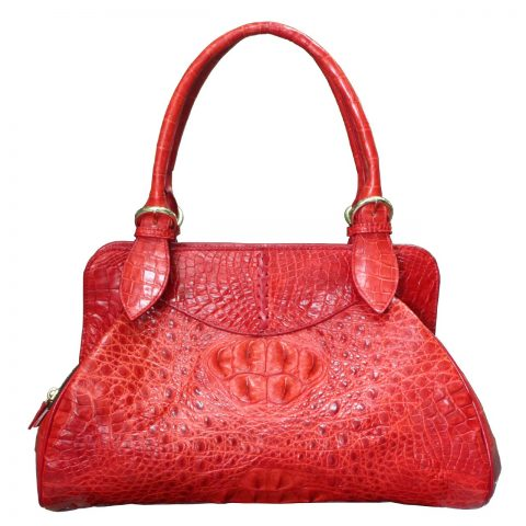 Crocodile Leather Handbag S027b