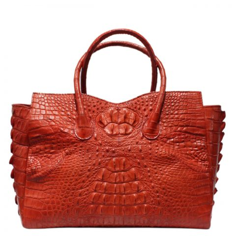 Crocodile Leather Handbag S032a