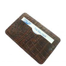 Ví Card Da Cá Sấu E961b
