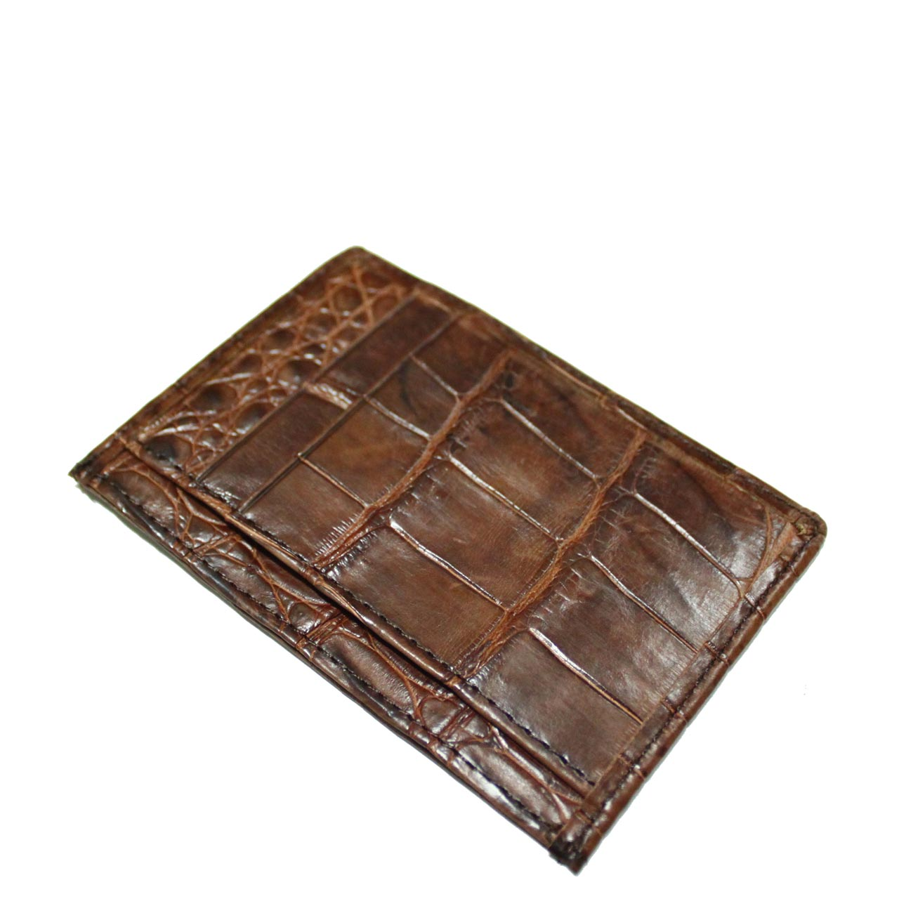 Crocodile Leather Card Wallet S963a