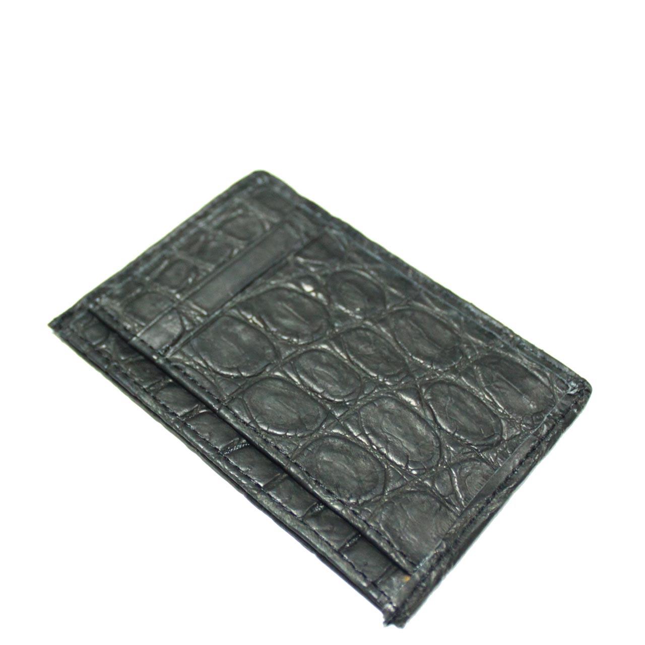 Crocodile Leather Card Wallet S963c