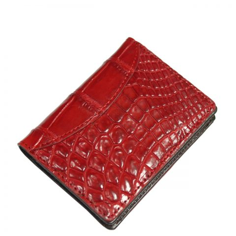 Crocodile Leather Card Wallet S966a
