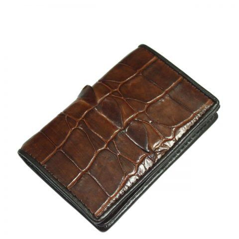 Crocodile Leather Card Wallet S967a