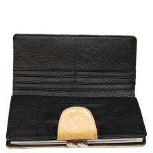 Ostrich Leather Purse E302c