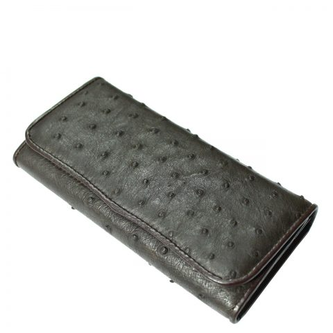 Ostrich Leather Purse E303a