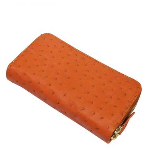 Ostrich Leather Purse E307a
