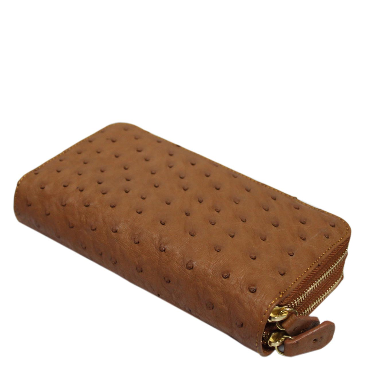 Ostrich Leather Purse E307c