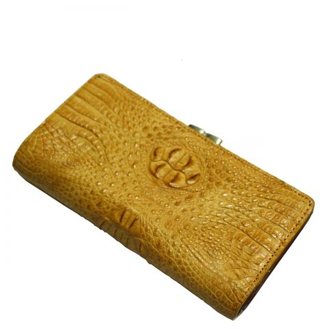 Crocodile Leather Purse S304c