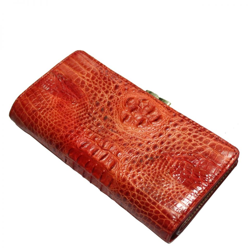 Crocodile Leather Purse S304e