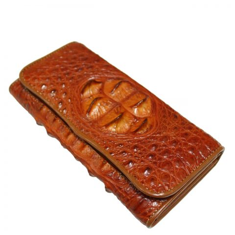 Crocodile Leather Purse S307a