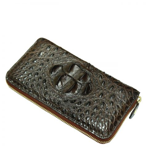 Crocodile Leather Purse S318a