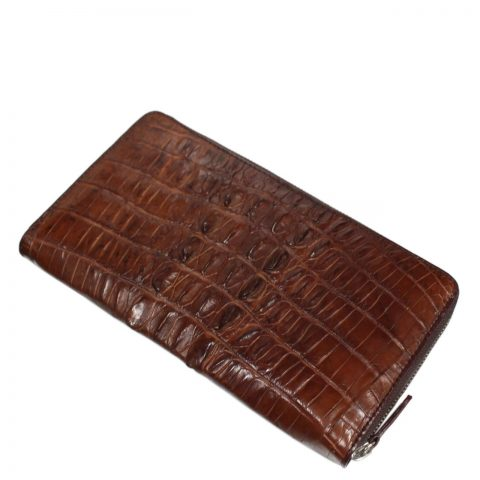Crocodile Leather Purse S324a