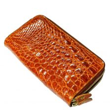 Crocodile Leather Purse S331a