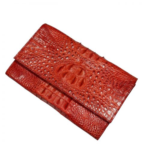 Crocodile Leather Purse S335