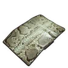 Python Leather Purse T301a