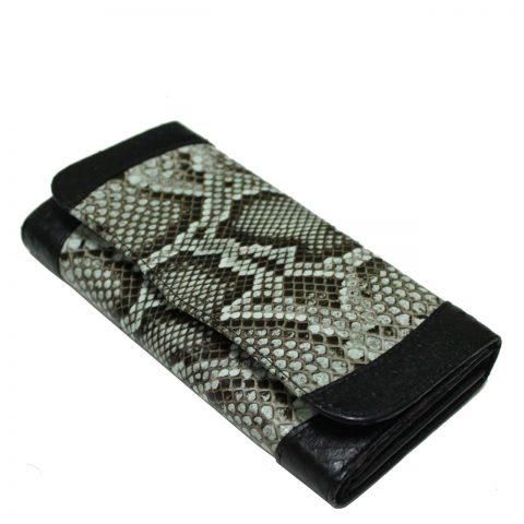 Python Leather Purse T302a