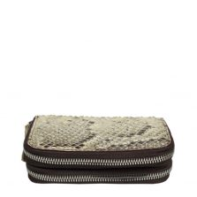 Python Leather Purse T303a