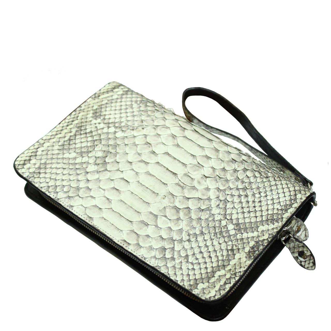 Python Leather Purse T305a