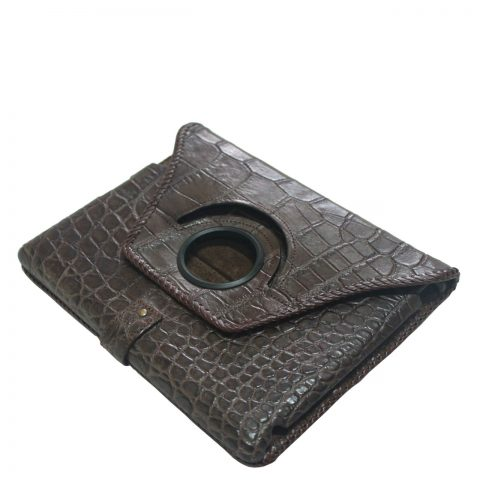 Crocodile leather ipad case S1081a