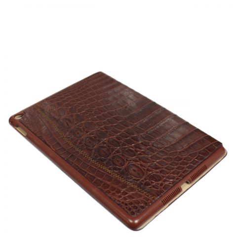 Crocodile leather ipad case S1082a