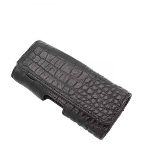 Crocodile leather Vertu phone case S1003a