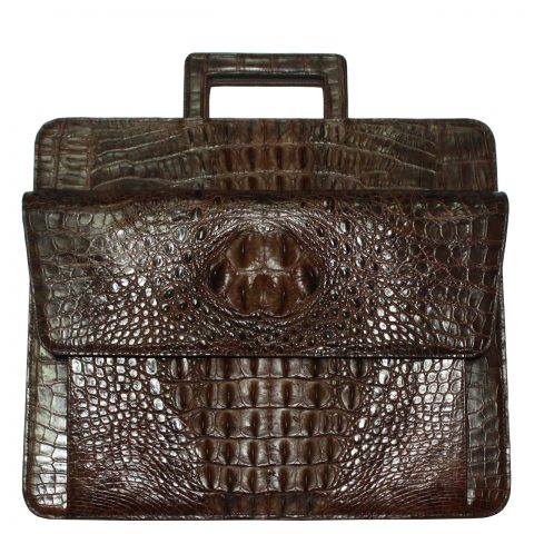 Crocodile Leather Briefcase S231a