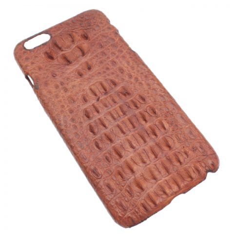 Crocodile leather iphone 6/6s plus cover S1062a