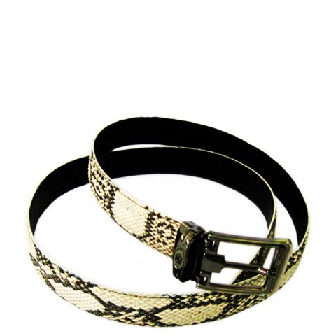 Python Leather Belt T501a