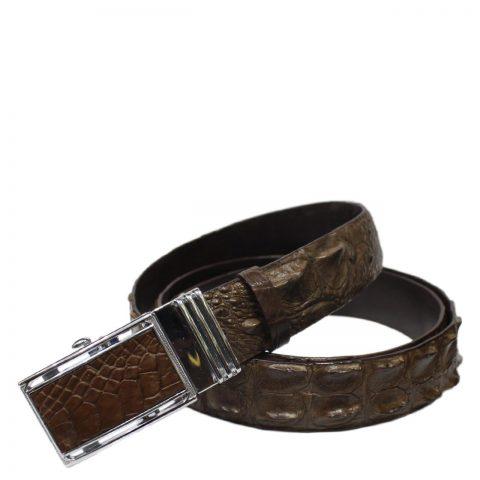 Crocodile Leather Belt S602e