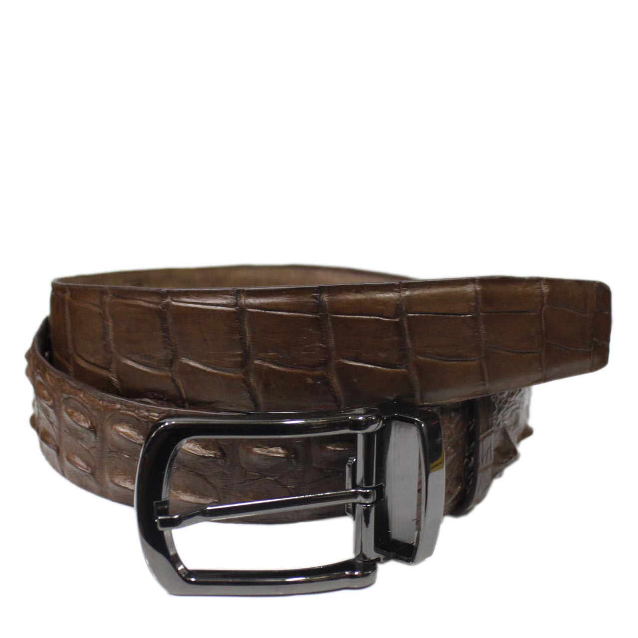 Crocodile Leather Belt S604d