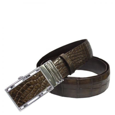 Crocodile Leather Belt S605d