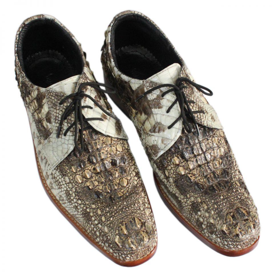 Giày nam da cá sấu nguyên thủy S872