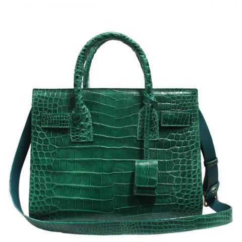 Crocodile Leather Handbag S033a